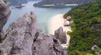 Fishing village - Lan Ha Bay - Kayaking - Swimming - Monkey island beach