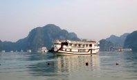 Trekking from Cat Ba national park to Viet Hai village